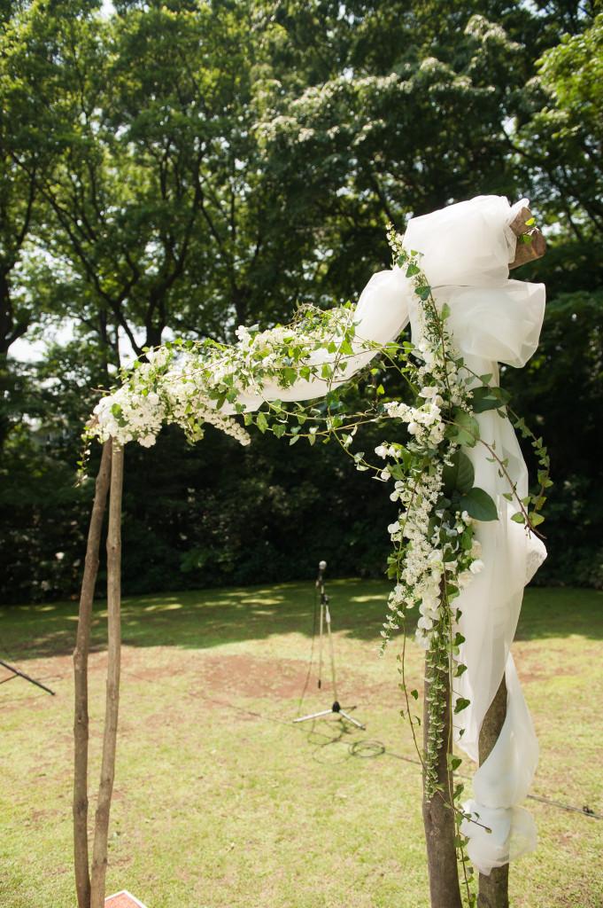 旧細川侯爵邸 和敬塾本館の結婚式の様子