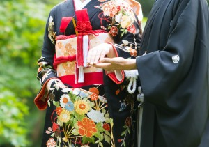 三溪園で和装結婚式