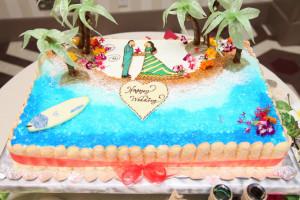 オリジナルWedding Cake