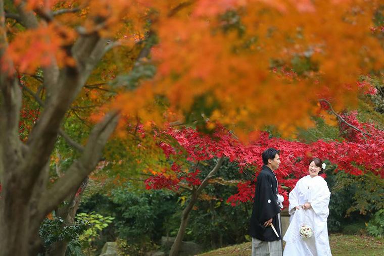 結婚式の前撮り写真