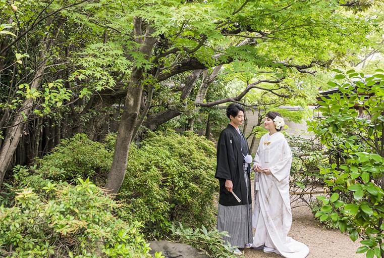 有栖川清水での結婚式