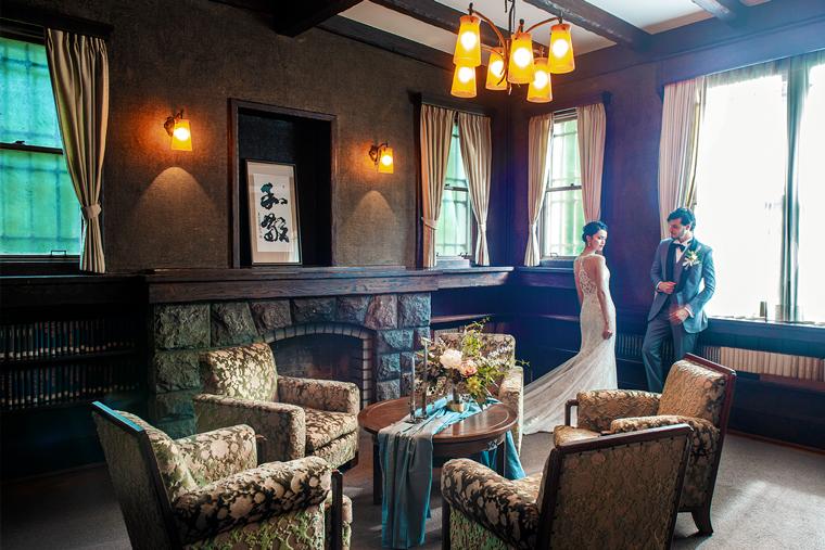 旧細川侯爵邸で結婚式