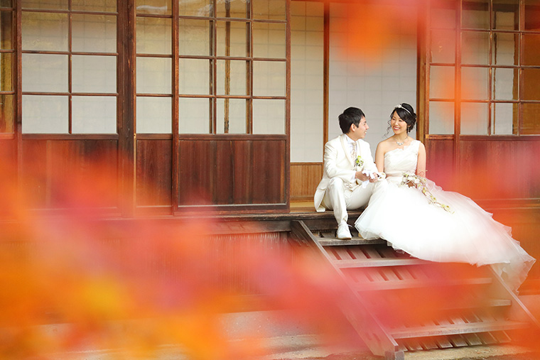 三渓園での結婚式