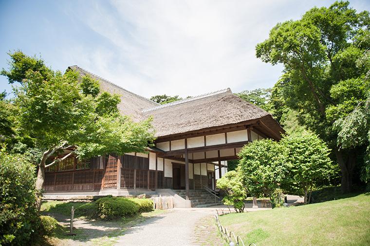 文化財建築の三渓園