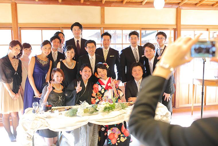 三溪園での結婚式