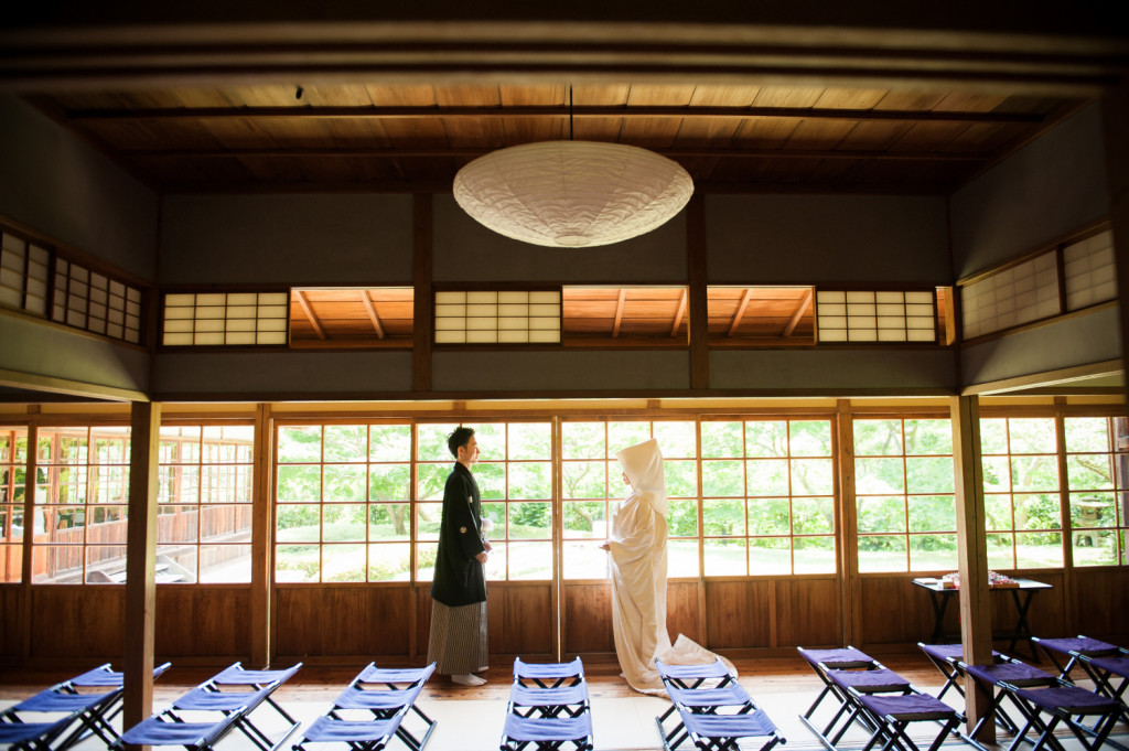 三渓園鶴翔閣の結婚式