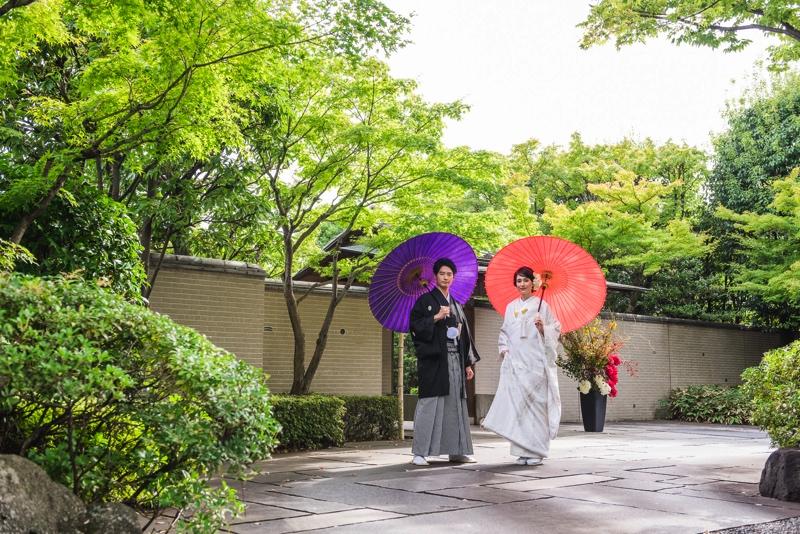 東京都内での結婚式なら有栖川清水