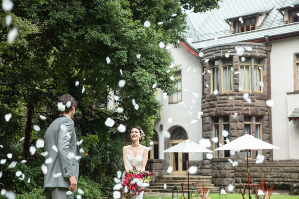 東京都内で貸切りで結婚式