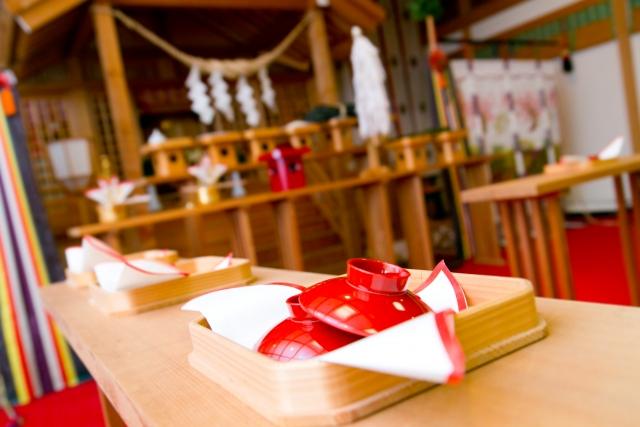ホテル・結婚式場での和婚の挙式・披露宴の流れ
