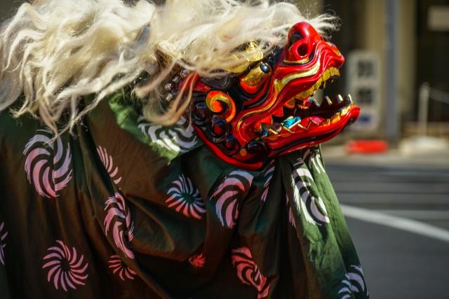 無病息災・邪気を払い幸福を招く伝統芸能「獅子舞」