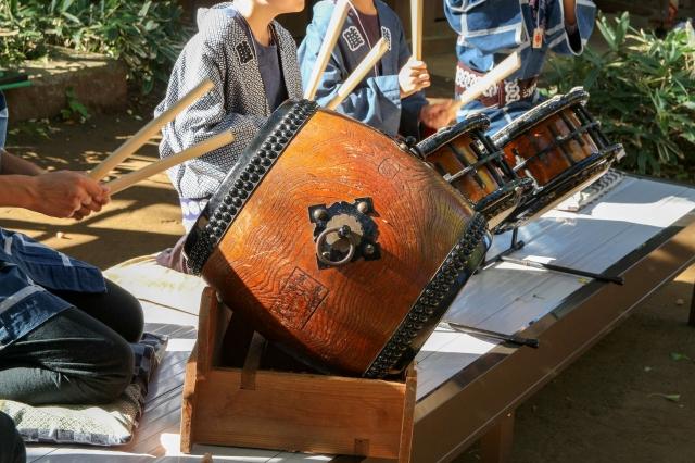 日本人の心躍る和太鼓・和楽器の生演奏
