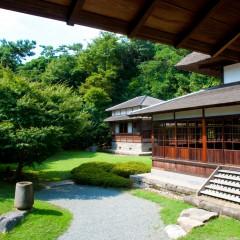 日本家屋の風合いが栄える深緑の季節