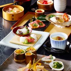 日本三大料亭の本格的な和の会席料理で舌鼓