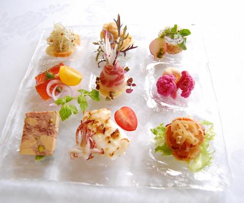 ラ・マーレの婚礼料理