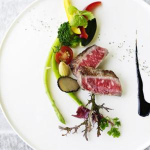 北九州若松の結婚式場「ザ マティルタスイート」の料理