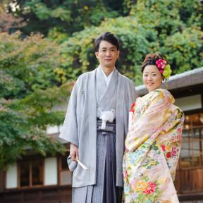 20人で三渓園鶴翔閣の結婚式