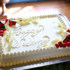 ウェディングケーキのデザインも一からご相談可能!オリジナルケーキが叶う!