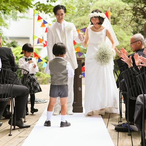 ラブラスリーのパパママ結婚式