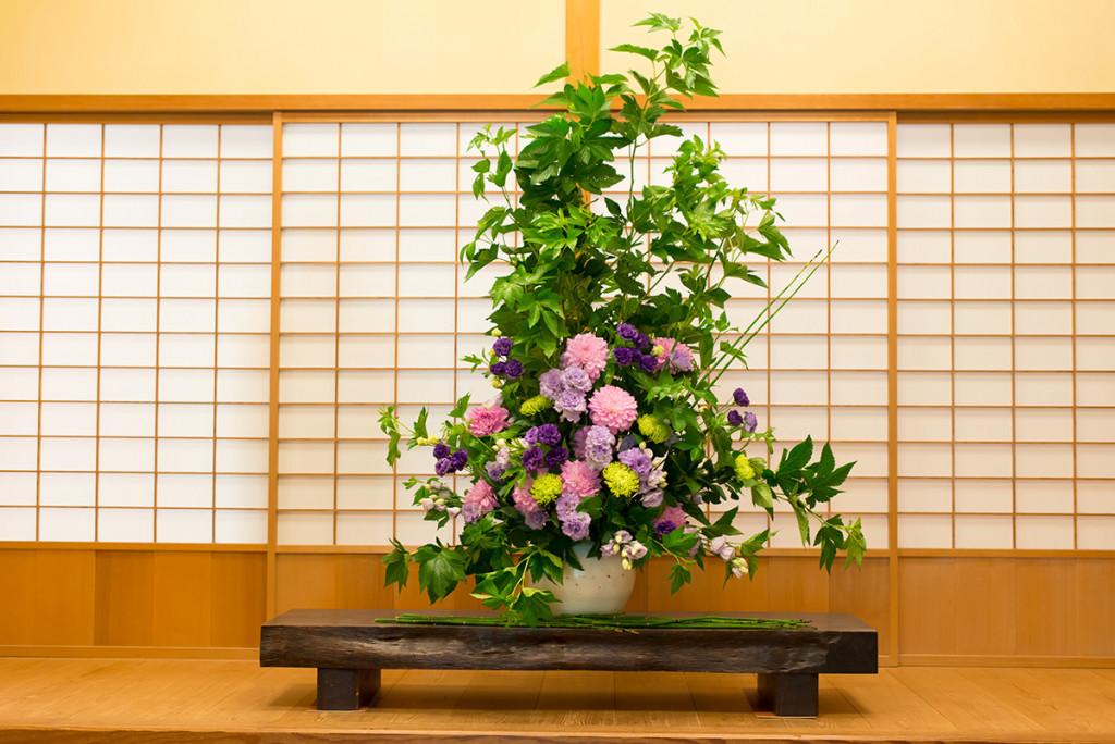 三溪園の装花
