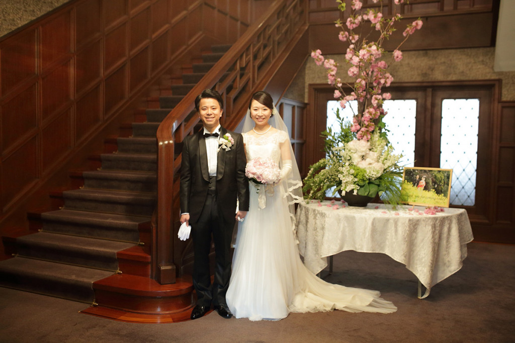 旧細川侯爵邸の結婚式