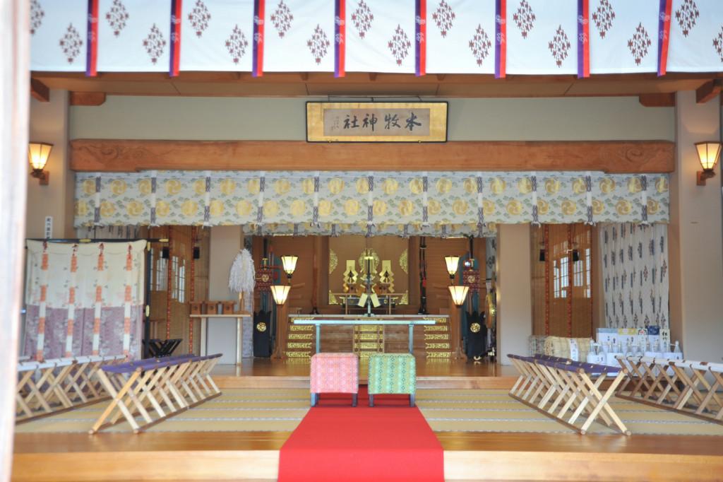 本牧神社の挙式