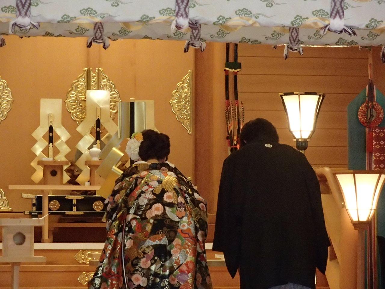 本牧神社の結婚式