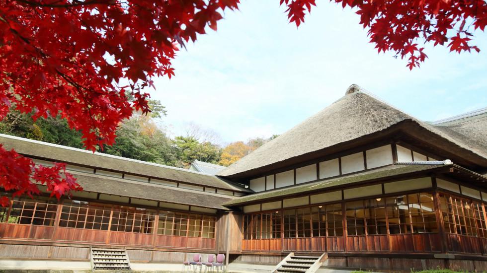 秋の三渓園の結婚式