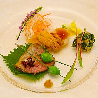横浜イギリス館の婚礼料理