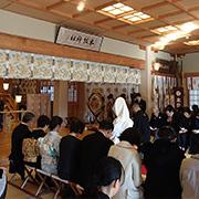 本牧神社の挙式会場