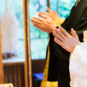 11月の三渓園の結婚式