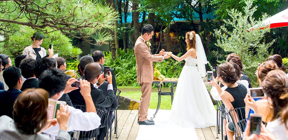 ラ・ブラスリーの結婚式のコンセプト