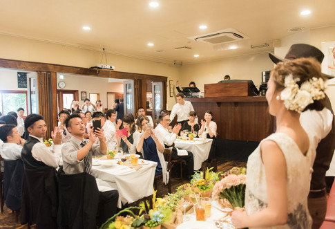 ラ・ブラスリーの結婚式