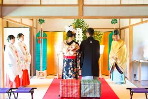 文化財貸切会場で和婚