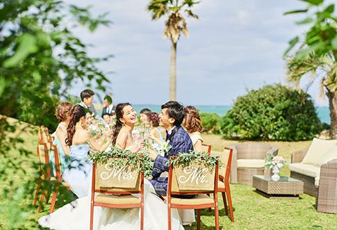 大人気のサマーシーズンの結婚式が叶うお得なプラン