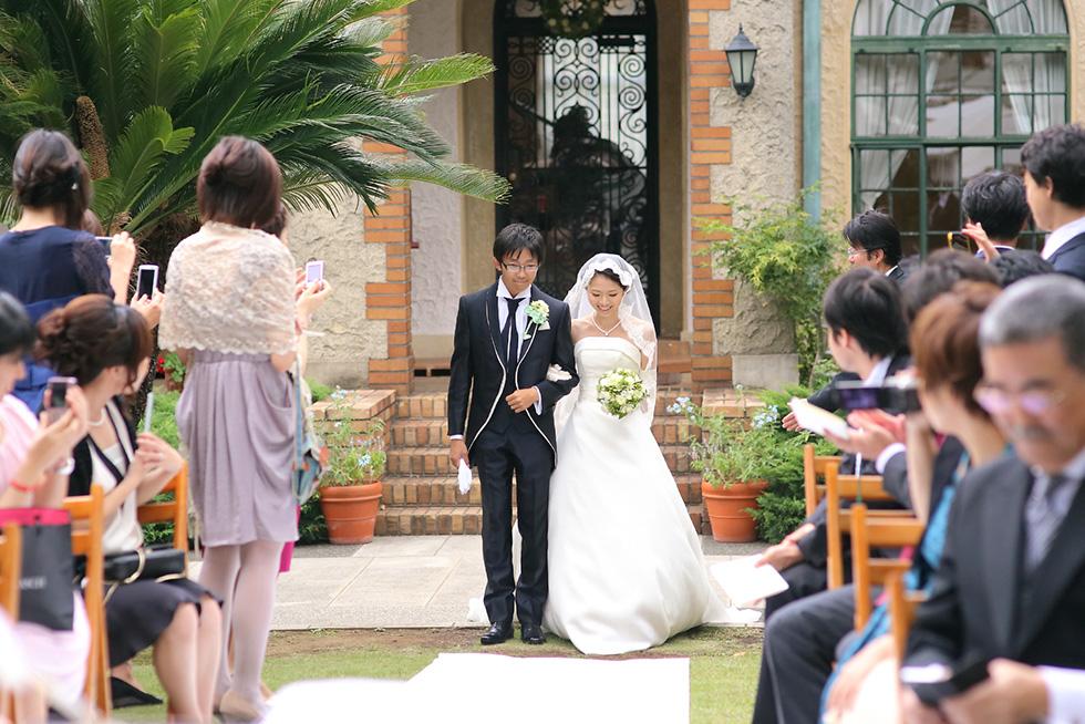 ベーリックホールの結婚式