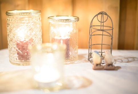 ロマンティックなナイトキャンドルウエディング♪