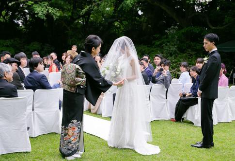 大好きなものに囲まれた結婚式
