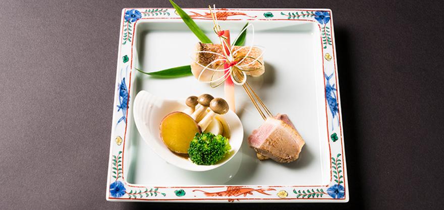 上質な空間を彩る日本料理