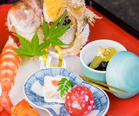 伝統の技で仕上げられた日本料理