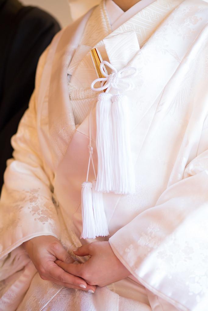 和装ではもっとも格式の高い正礼装の白無垢