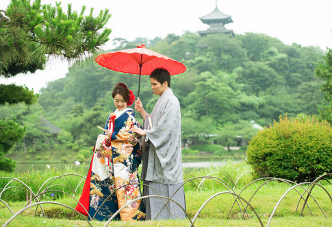 三渓園 鶴翔閣の結婚式