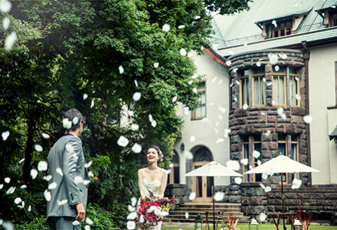 旧細川侯爵邸のお得なブライダルプラン